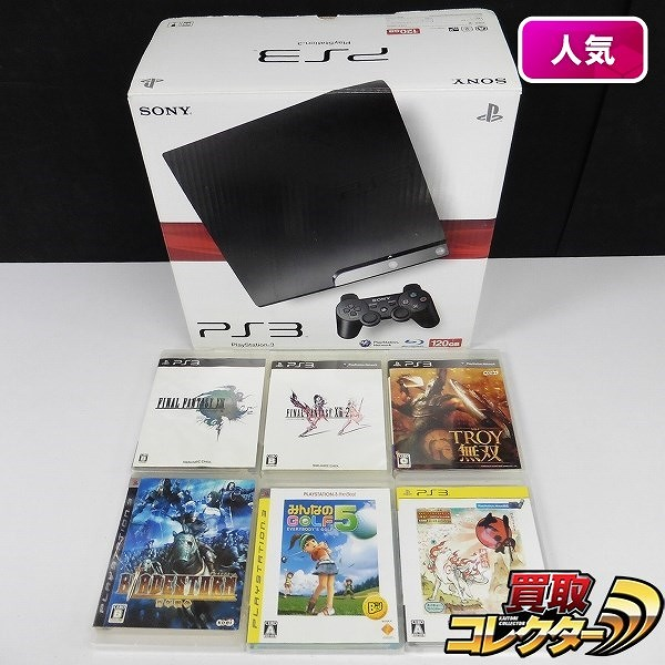 PS3 CECH-2000A CB ソフト 6本 ファイナルファンタジーXIII トロイ無双 他_1