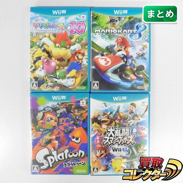 Wii U ソフト マリオパーティ10 マリオカート10 スマブラ for Wii U スプラトゥーン_1
