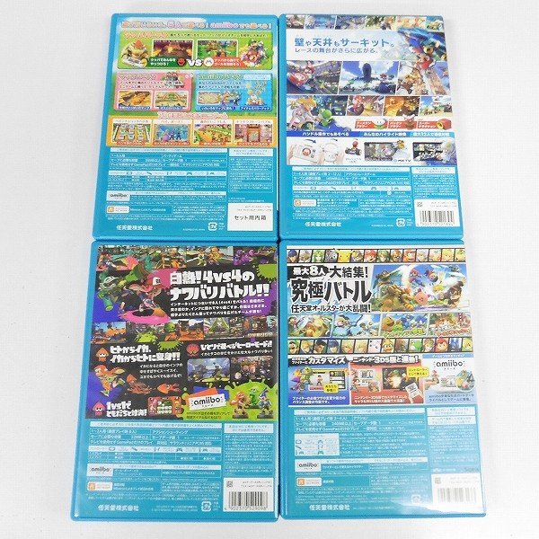 Wii U ソフト マリオパーティ10 マリオカート10 スマブラ for Wii U スプラトゥーン_3