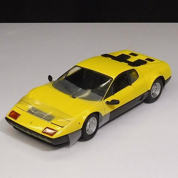 京商 1/18 フェラーリ512BB イエロー / Ferrari 512BB_3