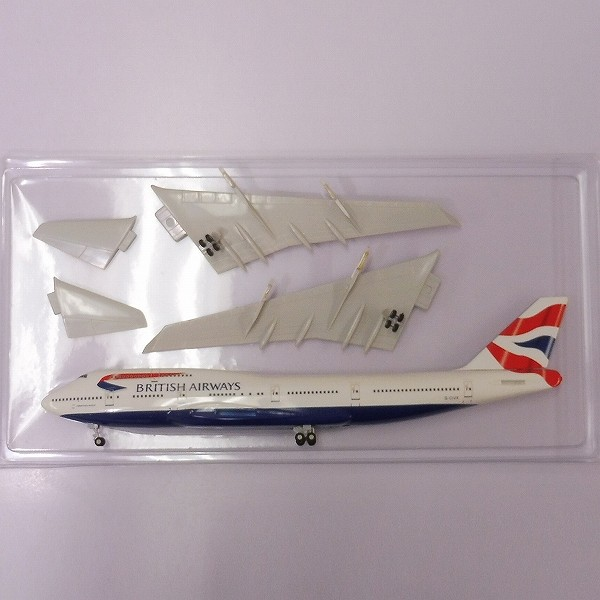 エバーライズ 1/200 ブリティッシュエアウェイズ B747-400 / BA_3