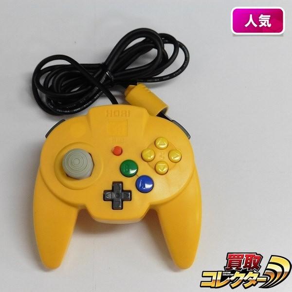 NINTENDO64 ホリパッドミニ64 イエロー / 任天堂 N64