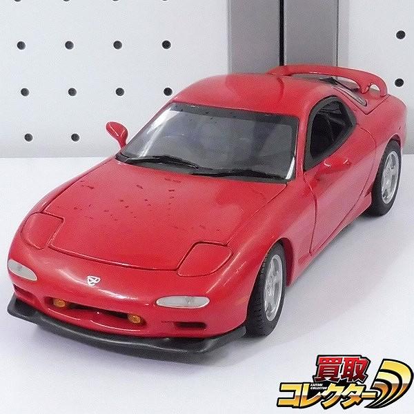 京商 KYOSHO 1/18 マツダ RX-7 アンフィニ レッド 赤 ミニカー