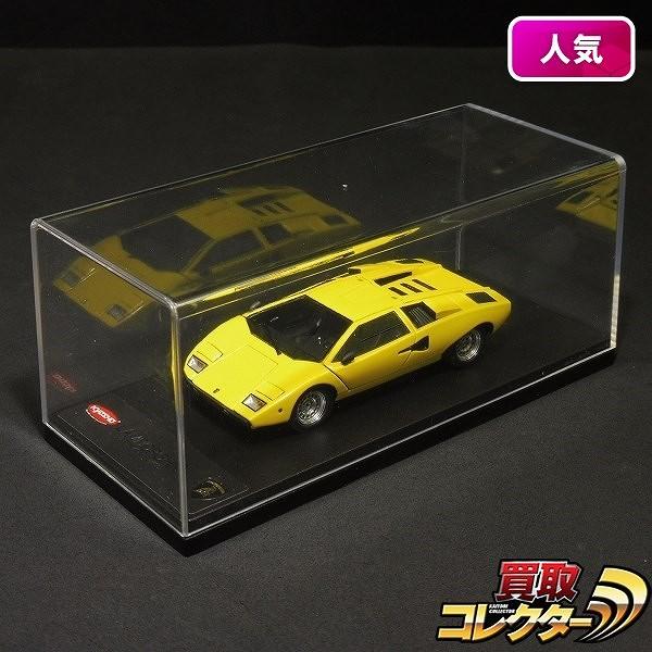 京商 MRコレクション 1/43 ランボルギーニ カウンタック LP400 イエロー