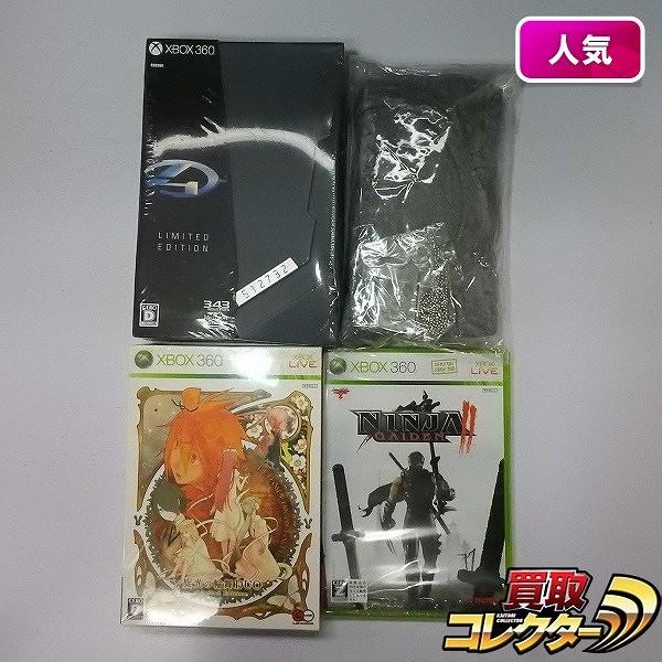 XBOX 360 ソフト HALO4 旋光の輪舞DUO NINJA GAIDENⅡ 他