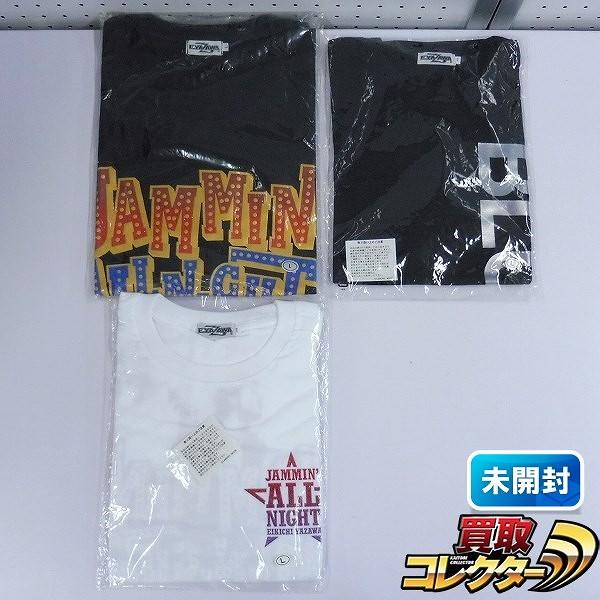矢沢永吉 Tシャツ 2012 JAMMIN' ALL NIGHT BLUE SKY Lサイズ