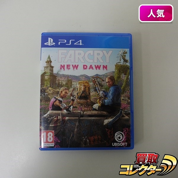 海外版 PS4 FARCRY New Dawn / ファークライ ニュードーン