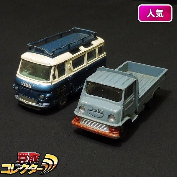 アサヒ玩具 MODEL PET トヨエース コーギー カマーバス2500