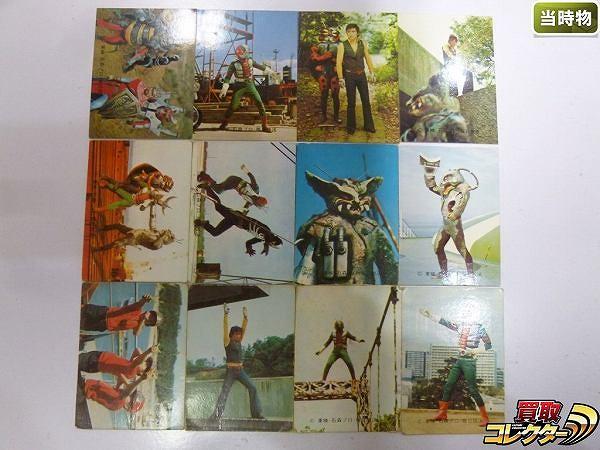 カルビー 旧 仮面ライダーV3 カード 12枚 378 他 当時物
