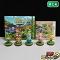 3DS とびだせ どうぶつの森 amiibo+ & アミーボ 5点 カード25枚