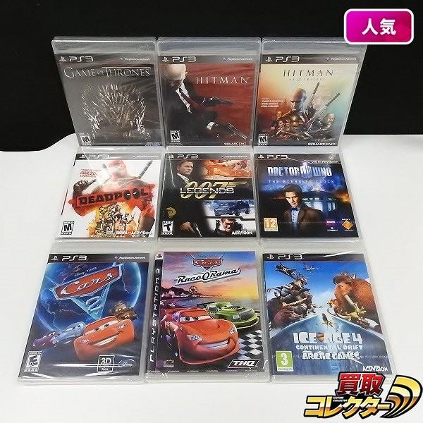 PS3 北米版 ソフト ゲームオブスローンズ ヒットマン アブソリューション 他