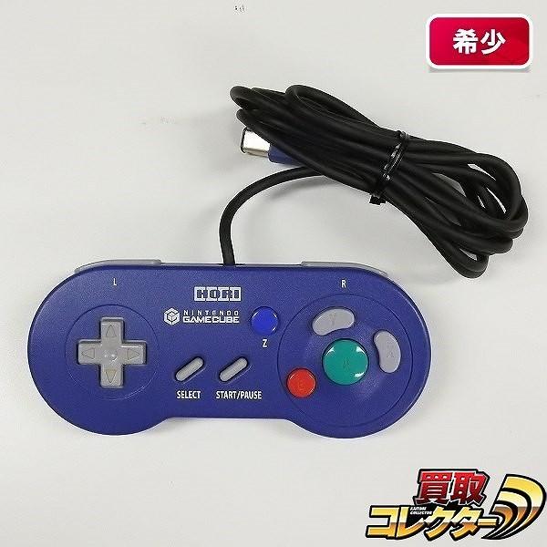 HORI ゲームキューブ デジタルコントローラ バイオレット