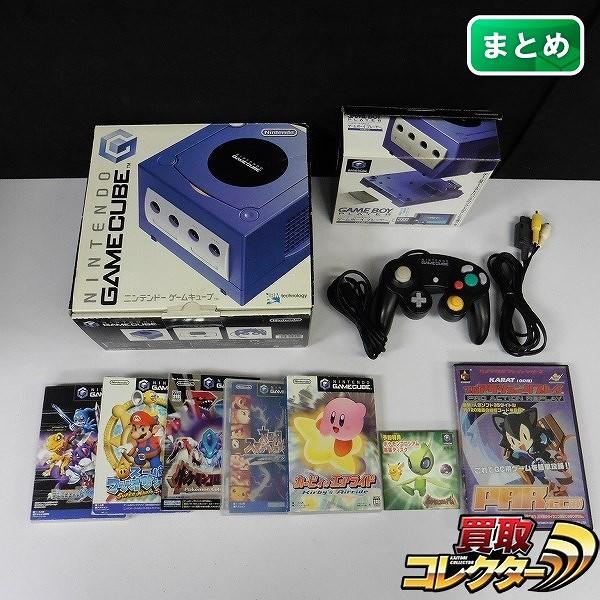 ゲームキューブ ゲームボーイプレーヤー ソフト 5点 デジモンワールドX カービィのエアライド 他