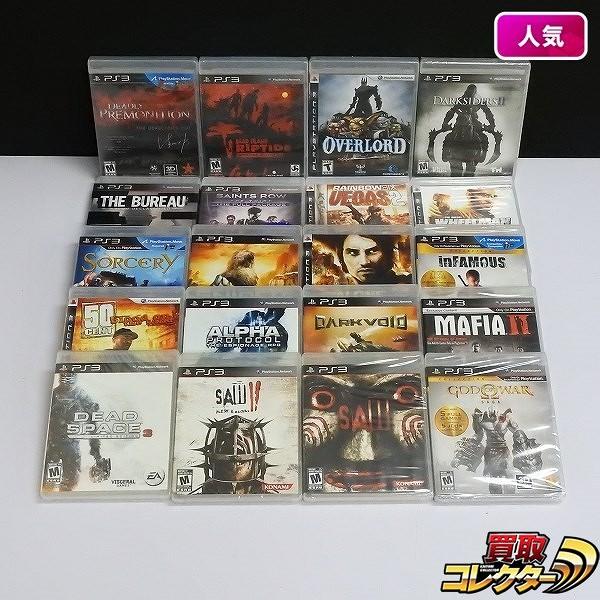 PS3 ソフト 北米版 SAW II FLESH&BLOOD SAWIII SNIPER 他