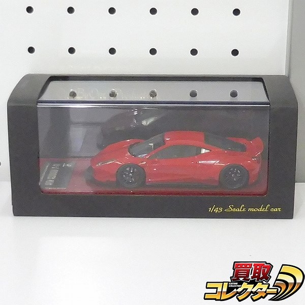 one by one production 1/43 LB☆WORKS フェラーリ458 レッド