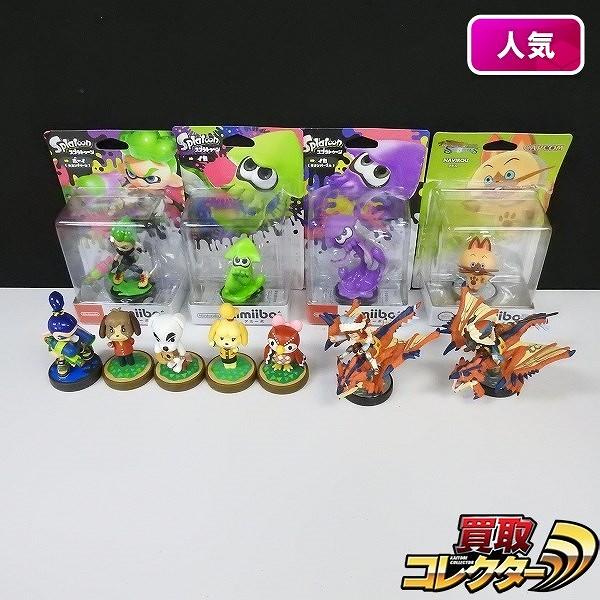 Nintendo amiibo 11点 スプラトゥーン2 どうぶつの森 他