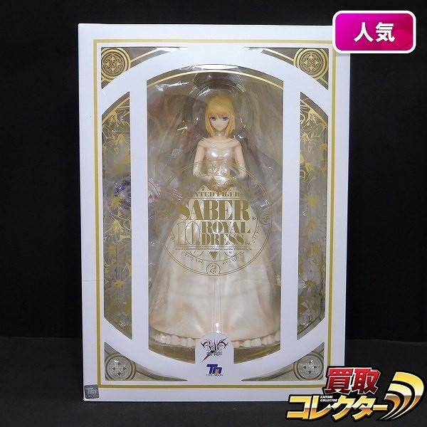 ANIPLEX+ Fate/staynight 1/7 セイバー 10th ロイヤルドレス ver.