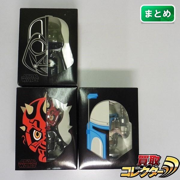 メディコム VCD ダースベイダー ダースモール ジャンゴフェット