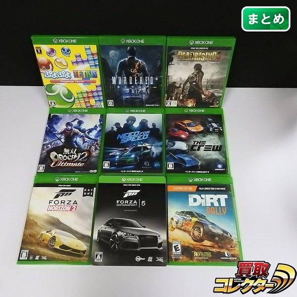 Xbox one ソフト 9点 ぷよぷよテトリス マーダード FORZA 他