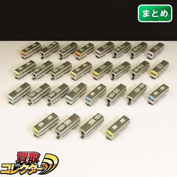 Bトレインショーティー 京王電鉄 3000系 7色 各4両 組済 / Bトレ