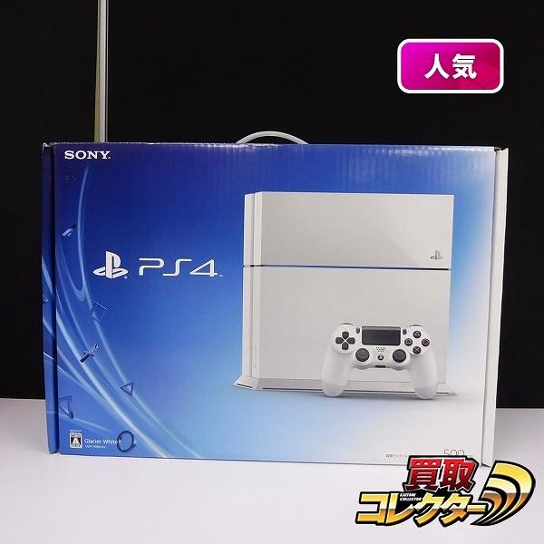PS4 CUH-1100A B02 500GB グレイシャー・ホワイト