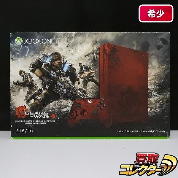 北米版 Xbox one S GEARS OF WAR4 Limited Edition