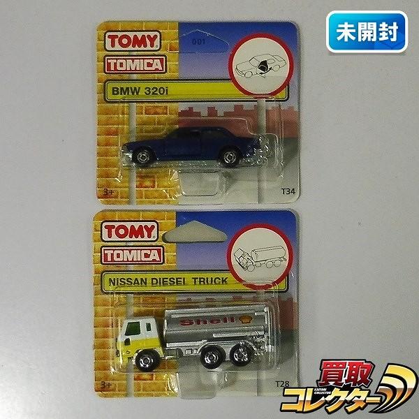 UKトミカ ニッサン ディーゼル トラック BMW 320i / 輸出仕様