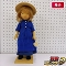 ポングラッツ人形 女の子 麦わら帽子 タグ付き / 木製 人形