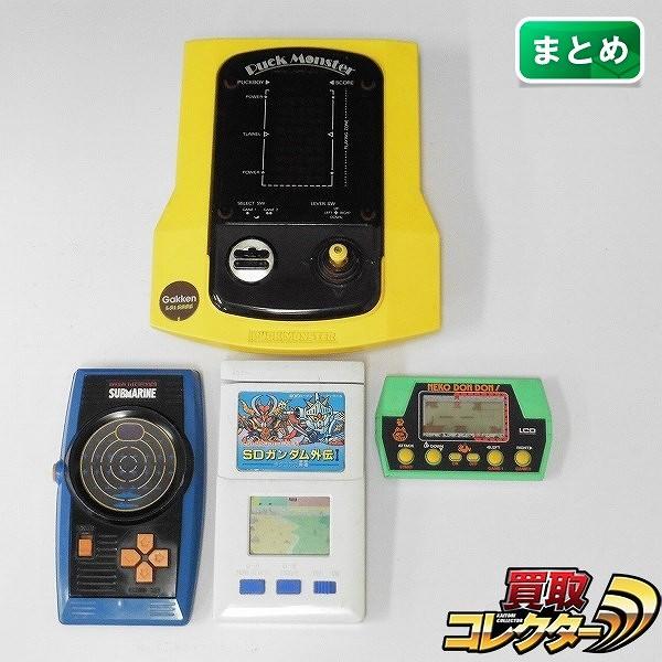 LSI/LCD ゲーム パックモンスター サブマリン 他
