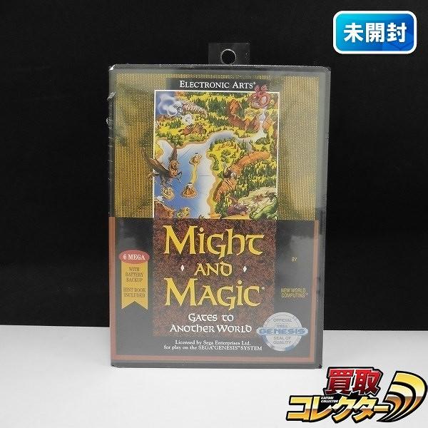 SEGA GENESIS ソフト Might and Magic