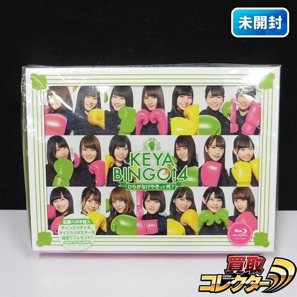けやき坂46 KEYABINGO!4 ひらがなけやきって何? Blu-ray BOX
