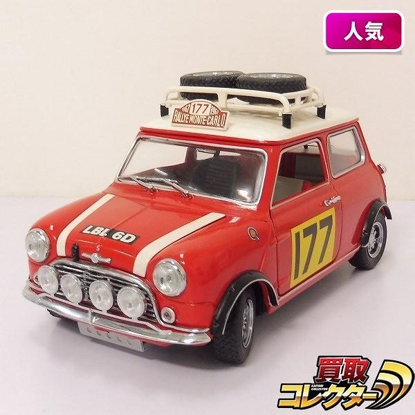 京商 1/18 モーリス ミニクーパー S Mk-1 モンテカルロラリー車 #177 1967 優勝車