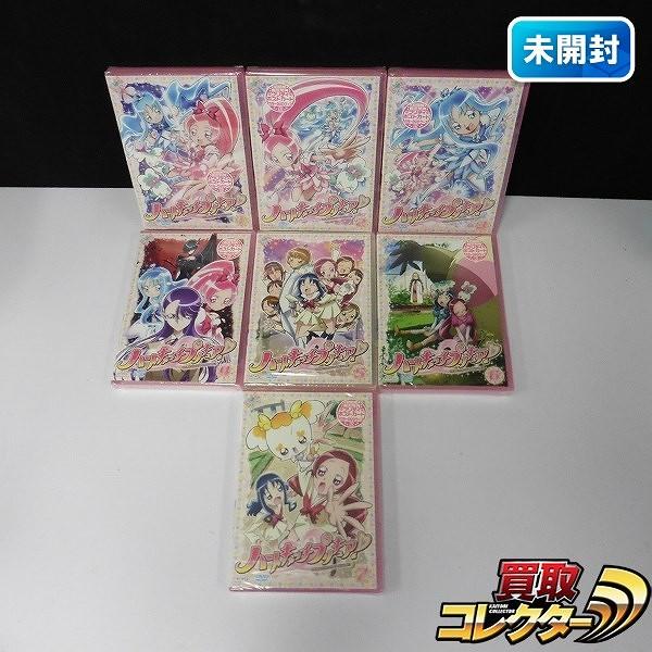 DVD ハートキャッチプリキュア! 1~7巻