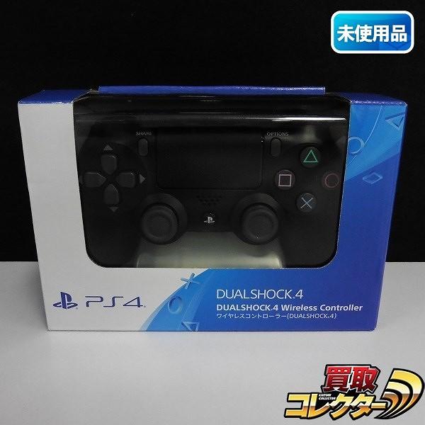 PS4 ワイヤレスコントローラー DUAL SHOCK4 CUH-ZCT2J ジェットブラック