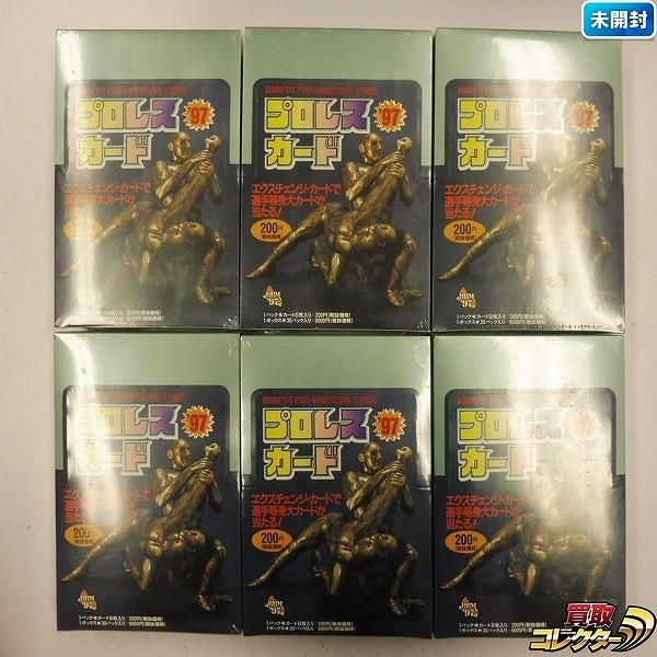 エポック社 BBM '97 PRO-WRESTLING CARD プロレスカード 計6箱