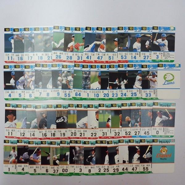 タカラ プロ野球ゲーム カード 93年度 セ・パ リーグ 西武 他_2