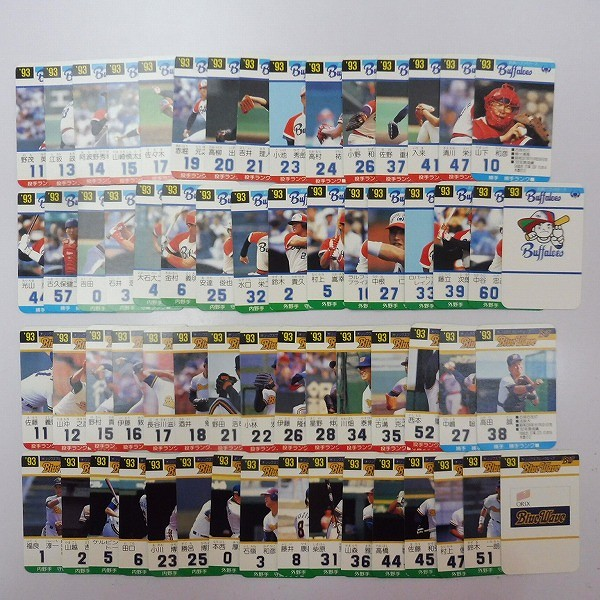 タカラ プロ野球ゲーム カード 93年度 セ・パ リーグ 西武 他_3
