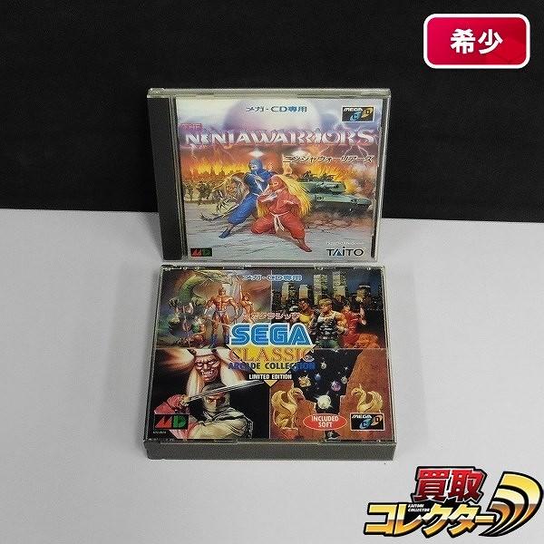 メガCD MEGA-CD ソフト ニンジャウォーリアーズ セガクラシック