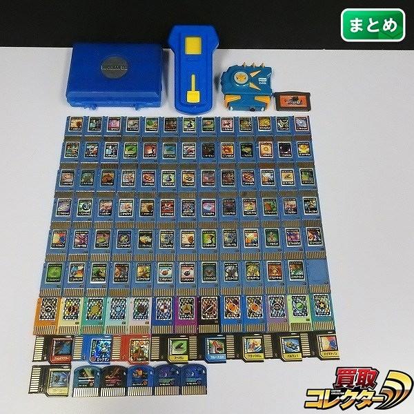 ゲームボーイアドバンス ロックマンエグゼ6 電脳中グレイガ + ビーストリンクゲート バトルチップ 他