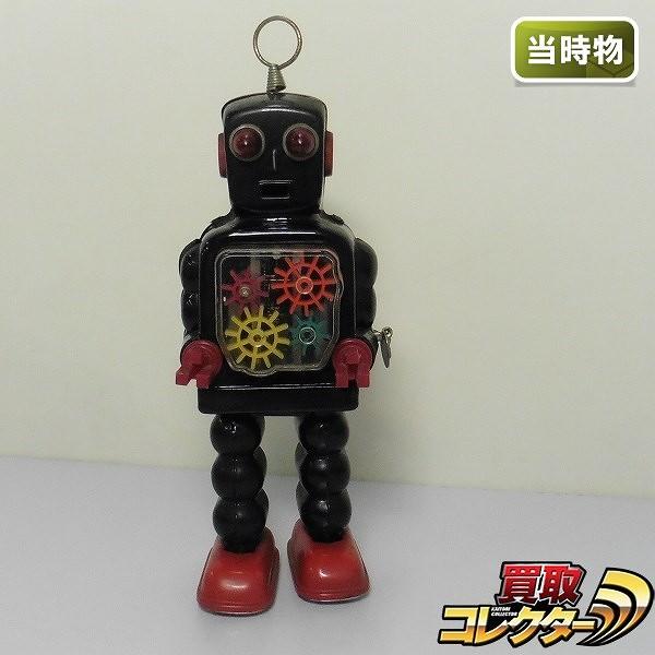 吉屋 KO. ハイホイールロボット ブリキ ゼンマイ 全高約25cm