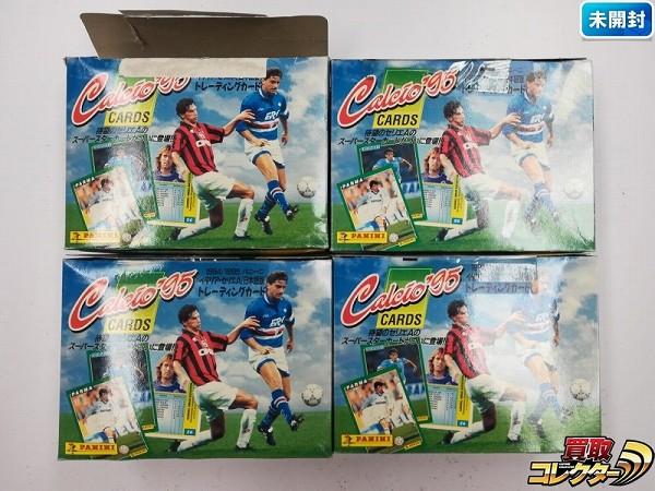 Calcio'95 カード パニーニ イタリア セリエA 日本語版 計4箱