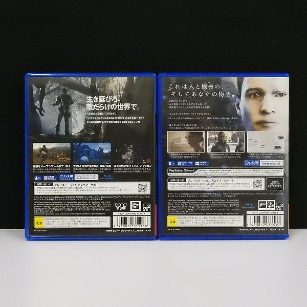 PS4 ソフト DAYS GONE + DETROIT BECOME HUMAN_2
