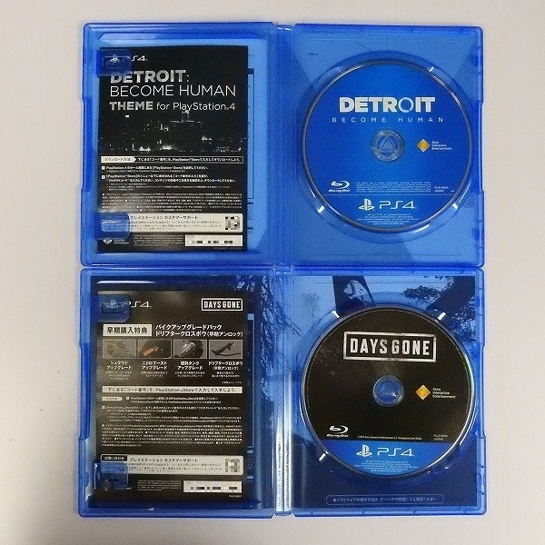 PS4 ソフト DAYS GONE + DETROIT BECOME HUMAN_3
