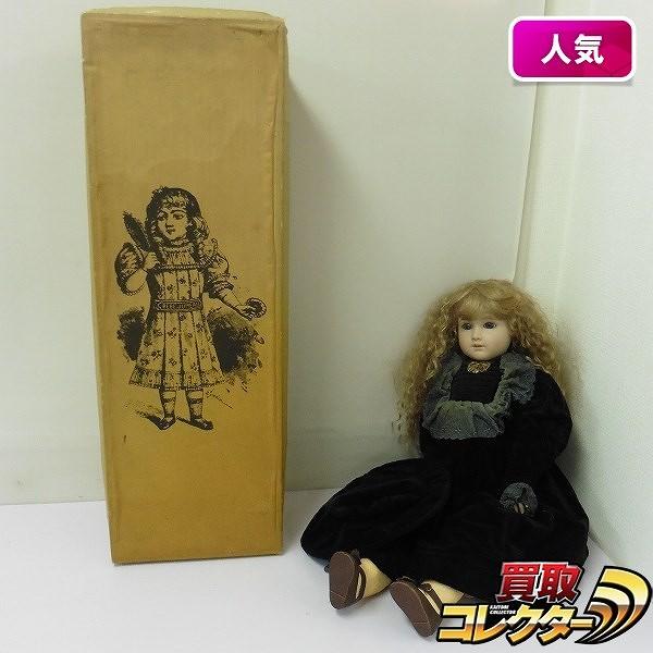 日本アンティックギャラリー ジュモー ビスクドール 女の子