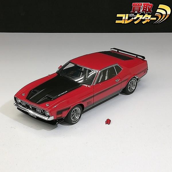 オートアート 1/18 フォードマスタング マッハ1 FastBack 1971_1