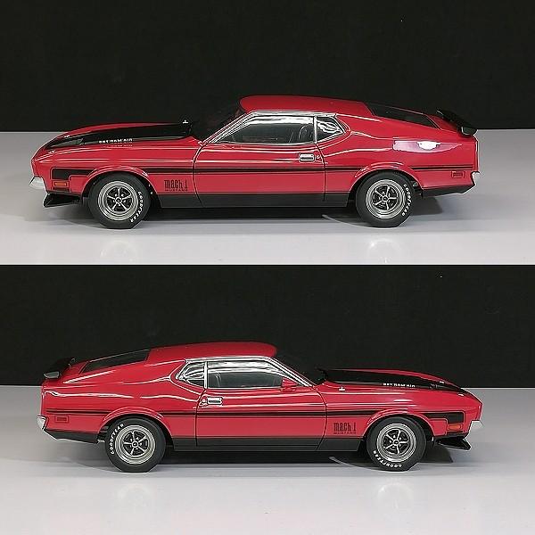 オートアート 1/18 フォードマスタング マッハ1 FastBack 1971_3