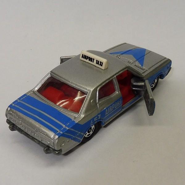 トミカ 黒箱 47 ニッサン セドリック 空港タクシー 日本製_3
