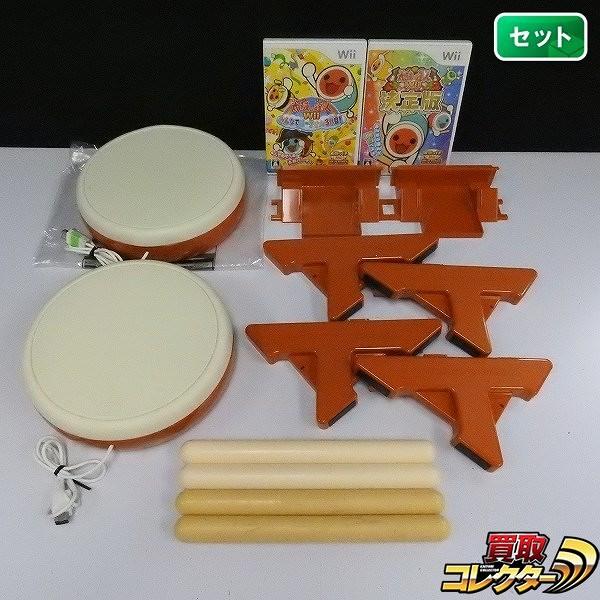 Wii ソフト 太鼓の達人Wii 決定版 太鼓の達人Wii みんなでパーティ 3代目 タタコン付_1