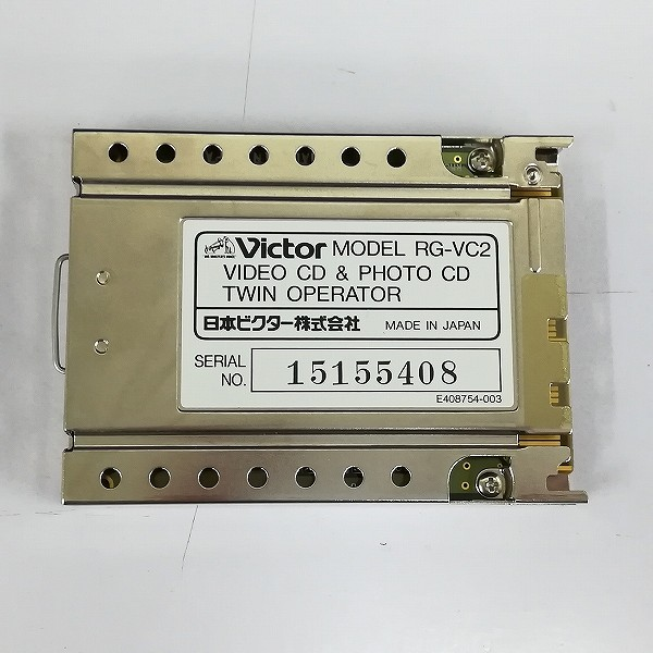 ビクター ツインオペレーター ビデオCD&フォトCD RG-VC2_2
