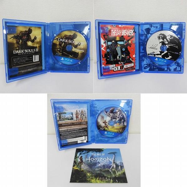 PS4 ソフト ダークソウル3 ペルソナ5 ホライゾンゼロドーン_3